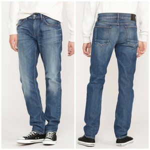 Hudson Blake Slim Straight Button Fly Jeans